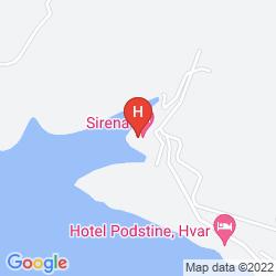 Mapa SIRENA HOTEL