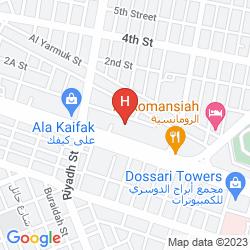 Mapa SIGNATURE AL KHOBAR