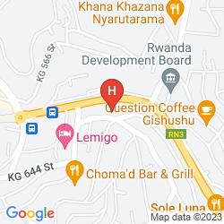 Mapa HILLCREST