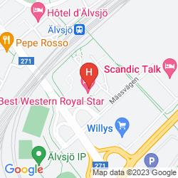 Mapa BEST WESTERN ROYAL STAR