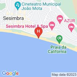Mapa SESIMBRA HOTEL & SPA