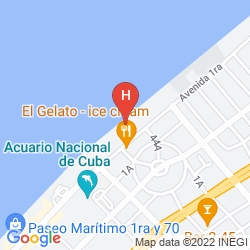 Mapa BE LIVE HAVANA CITY COPACABANA