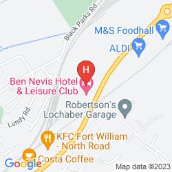 Mapa BEN NEVIS HOTEL & LEISURE CLUB