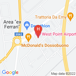 Mapa WEST POINT AIRPORT HOTEL
