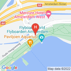 Mapa MERCURE HOTEL AMSTERDAM WEST