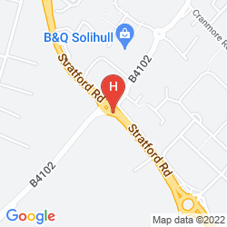 Mapa CORUS HOTEL SOLIHULL