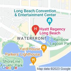 Mapa HYATT REGENCY LONG BEACH
