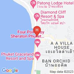 Mapa BANTHAI BEACH RESORT & SPA