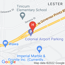 Mapa RAMADA PHILADELPHIA AIRPORT
