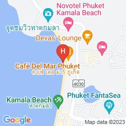 Mapa HYATT REGENCY PHUKET RESORT