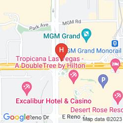 Mapa MGM GRAND