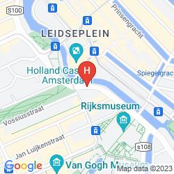 Mapa PARK HOTEL AMSTERDAM