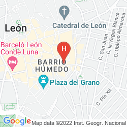 Mapa NH COLLECTION LEON PLAZA MAYOR