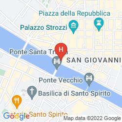 Mapa TORNABUONI BEACCI
