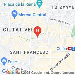 Mapa CATALONIA EXCELSIOR