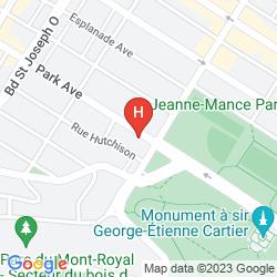 Mapa PARK AVENUE