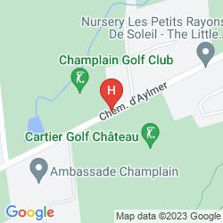 Mapa DOUBLETREE BY HILTON HOTEL GATINEAU - OTTAWA
