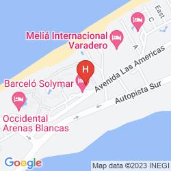 Mapa BARCELO SOLYMAR