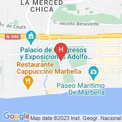 Mapa MONARQUE SULTAN CLUB