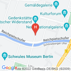 Mapa MARITIM HOTEL BERLIN