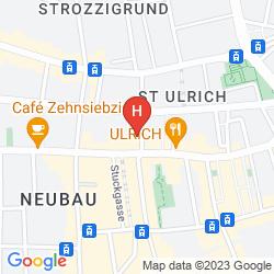 Mapa ALTSTADT VIENNA
