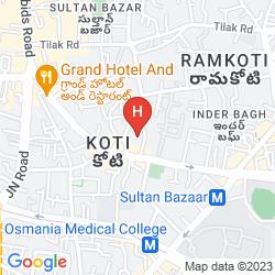 Mapa ADITYA PARK INN