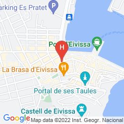 Mapa GRAN HOTEL MONTESOL IBIZA, CURIO COLLECTION BY HILTON