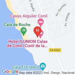 Mapa ILUNION CALAS DE CONIL