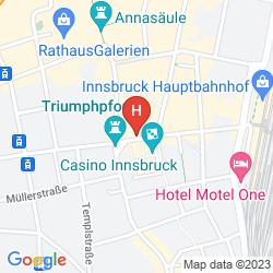 Mapa AC HOTEL BY MARRIOTT INNSBRUCK