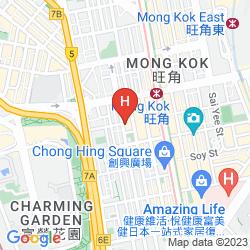 Mapa CORDIS, HONG KONG