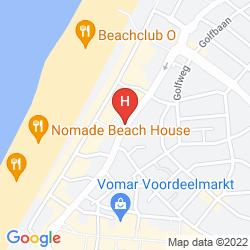 Mapa THE FLYING PIG BEACH HOSTEL