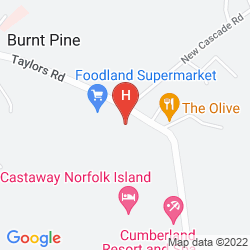 Mapa CUMBERLAND RESORT AND SPA