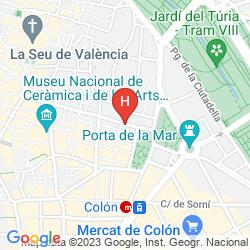 Mapa VINCCI PALACE