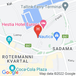 Mapa HESTIA HOTEL EUROPA