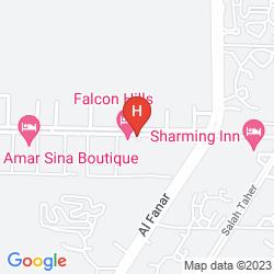 Mapa FALCON HILLS