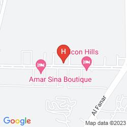 Mapa VERGINIA SHARM RESORT & AQUA PARK