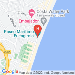 Mapa HOTEL LAS PIRAMIDES