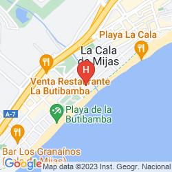 Mapa VIK GRAN HOTEL COSTA DEL SOL