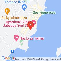 Mapa APARTAMENTOS PLAYASOL JABEQUE DREAMS