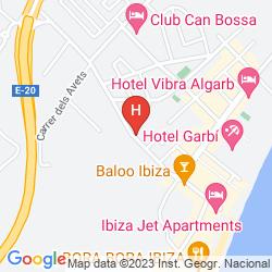 Mapa EBANO SELECT APARTMENTS - ADULTS ONLY