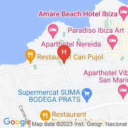 Mapa APARTAHOTEL CLUB MARITIM