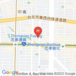 Mapa WELCOME