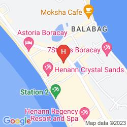 Mapa LE SOLEIL DE BORACAY