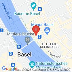 Mapa SORELL HOTEL MERIAN