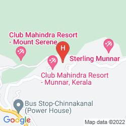 Mapa CLUB MAHINDRA LAKE VIEW