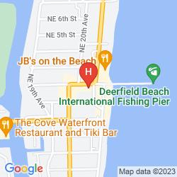 Mapa WYNDHAM DEERFIELD BEACH RESORT