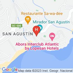 Mapa IFA BEACH - ADULT ONLY