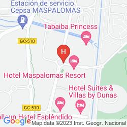 Mapa MASPALOMAS OASIS CLUB