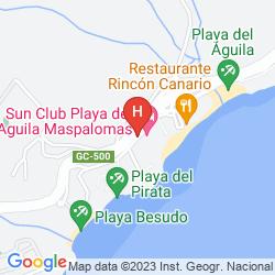Mapa SUN CLUB AGUILA PLAYA