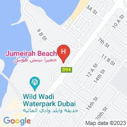 Mapa JUMEIRAH BEACH
